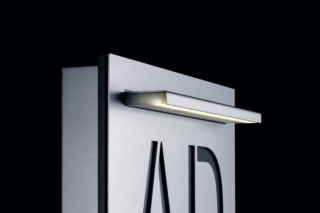 Steel Surface area light LED  by  Siedle