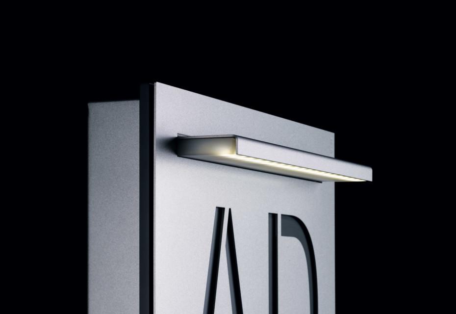 Steel Flächenleuchte LED