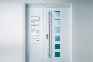 Vario Intercom system door panel  by  Siedle