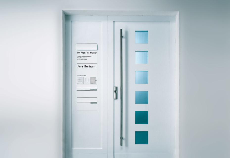 Vario Intercom system door panel