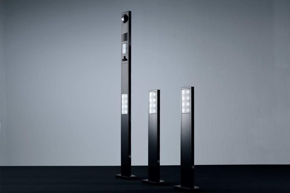 vario sprechanlage freistehend von siedle stylepark. Black Bedroom Furniture Sets. Home Design Ideas