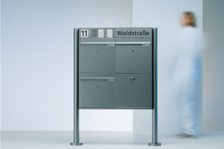Vario Letterbox free standing  by  Siedle