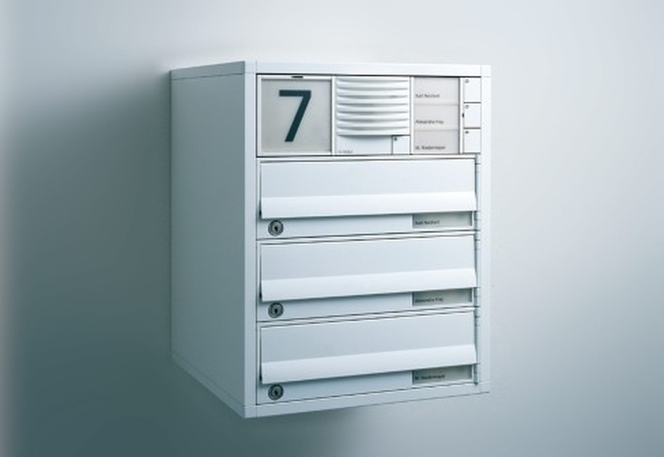 Vario Letterbox surface mounted