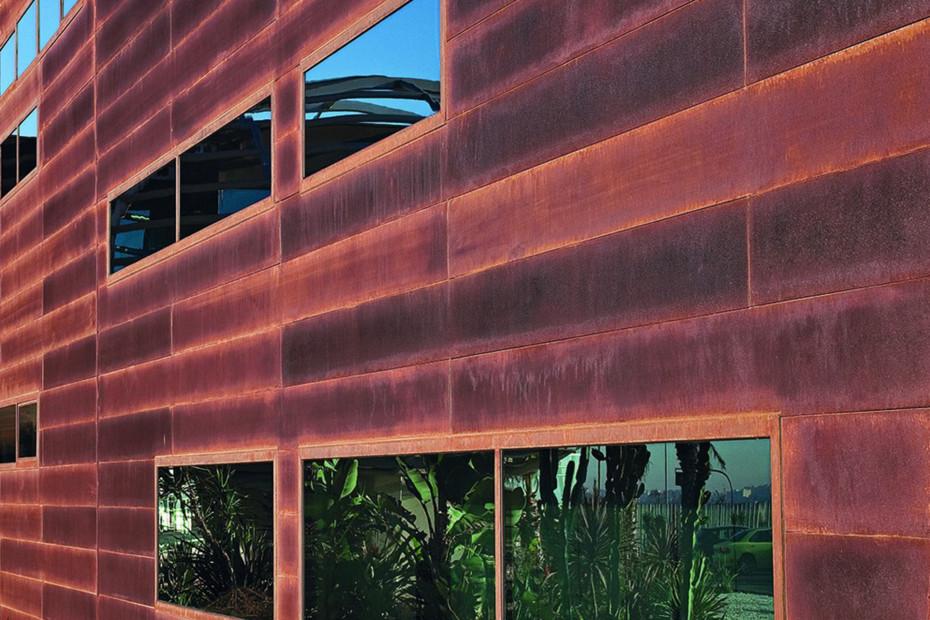 Fassadensystem, Entsalzungsanlage, Alicante