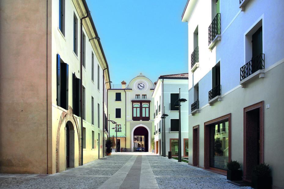 Profilsystem, lateinisches Viertel, Treviso