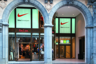 Profilsystem, Einkaufszentrum, Antwerpen  von  Secco Sistemi