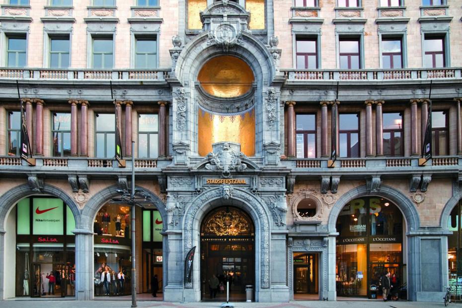 Profilsystem, Einkaufszentrum, Antwerpen