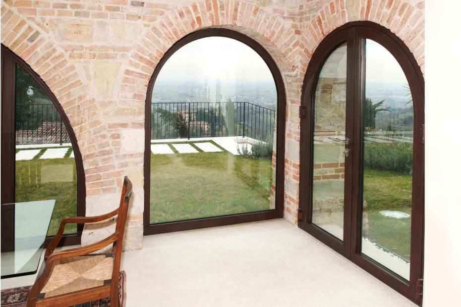 Profilsystem, Villa al Belvedere, Asolo