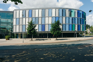 Soltis 92, administration building Hameln-Pyrmont, Hameln  by  Serge Ferrari