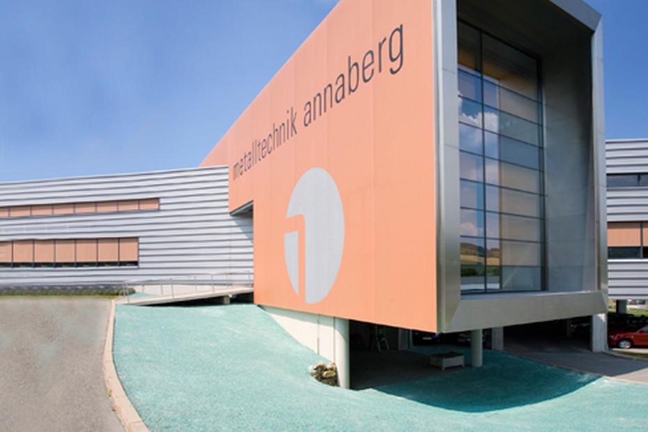Stamisol FT, Verwaltungs- und Produktionsgebäude Metalltechnik, Annaberg