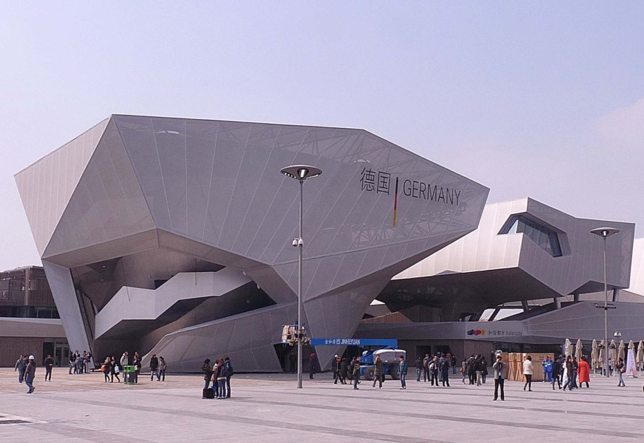 Stamisol FT, Expo pavilion, Shanghai
