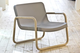 Time Out Armchair wood  by  SERRALUNGA