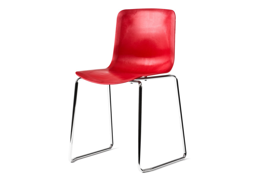 Boy chair with skid