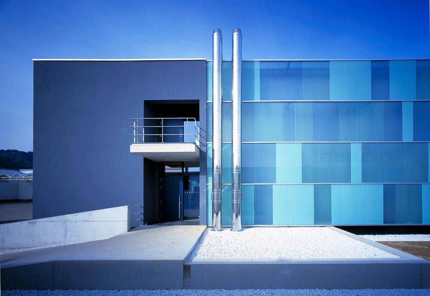glasfassade fa kl ber owingen von sprinz stylepark. Black Bedroom Furniture Sets. Home Design Ideas