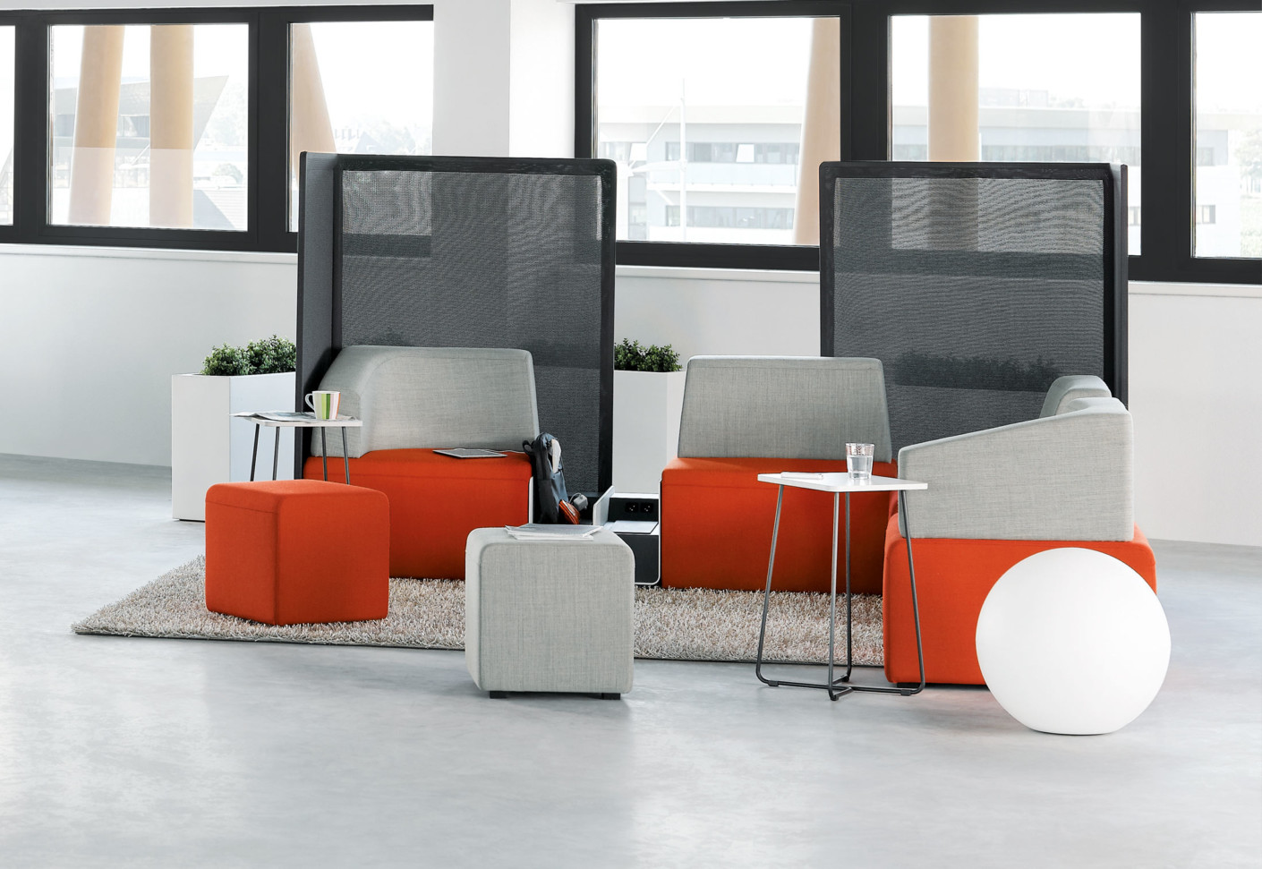 b free sitzecke von steelcase stylepark. Black Bedroom Furniture Sets. Home Design Ideas