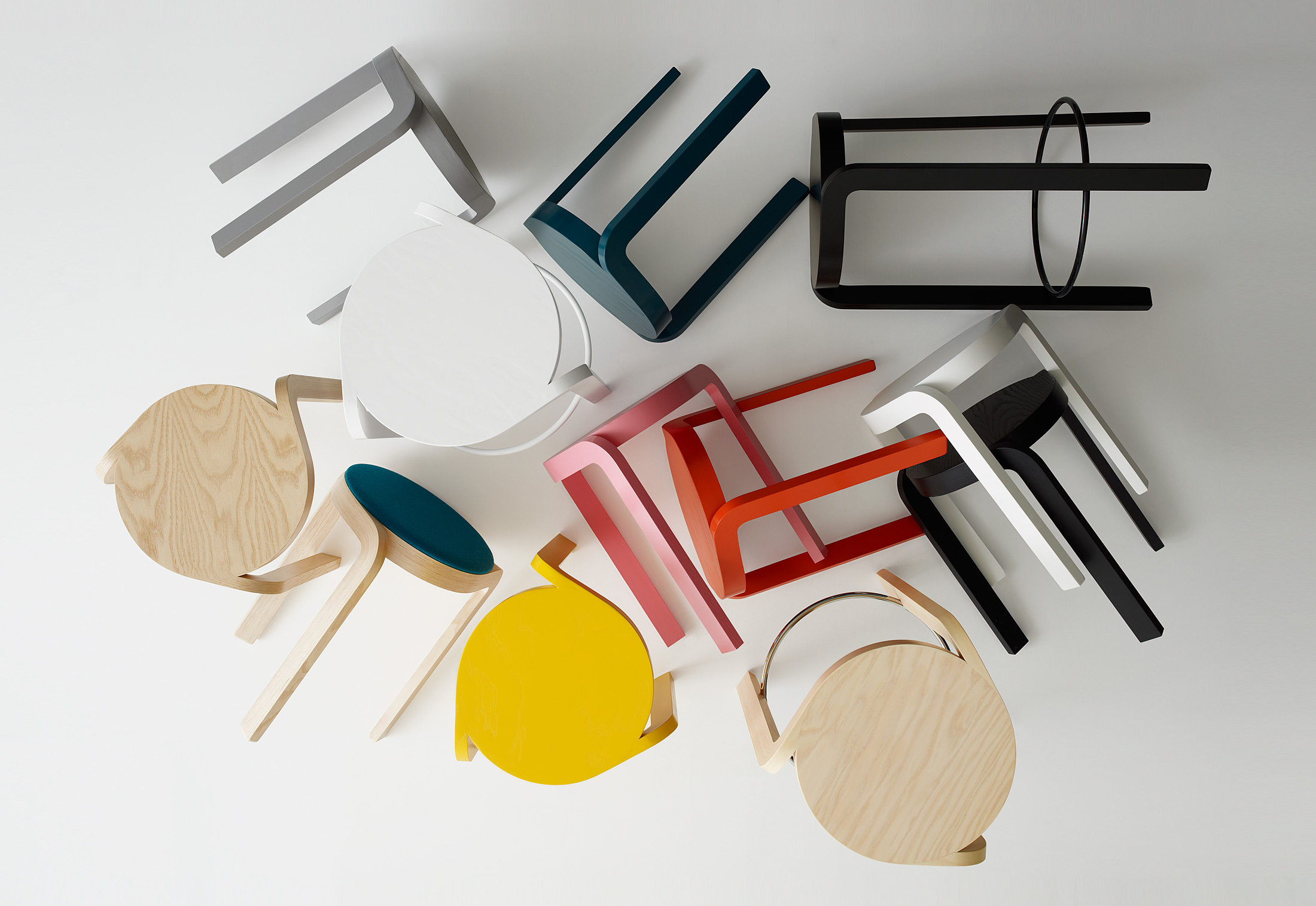Spin bar stool by Swedese STYLEPARK