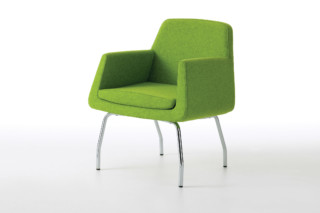 Jeffersson easy chair with feet  by  Skandiform