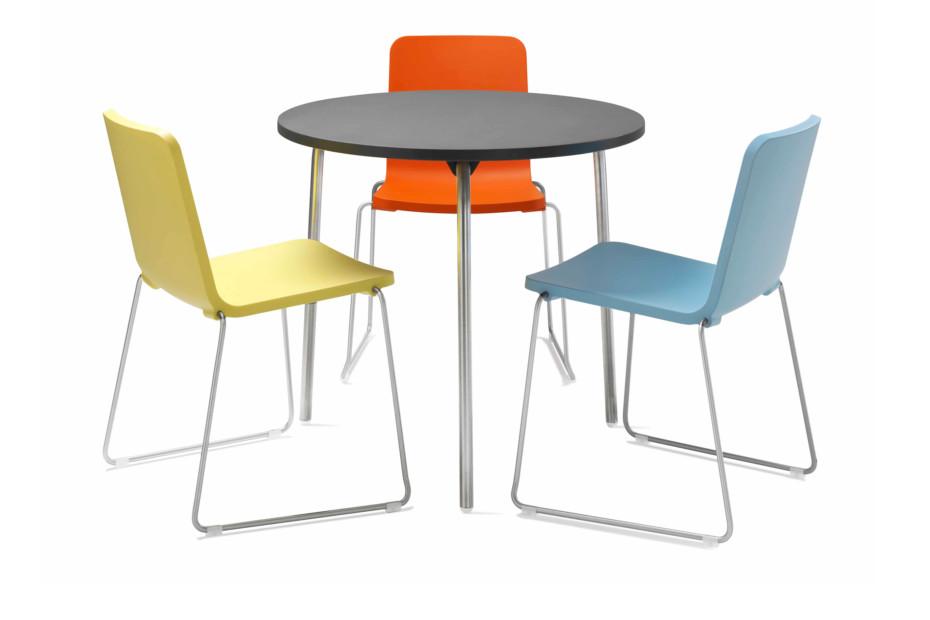 pompidoo tisch rund von skandiform stylepark. Black Bedroom Furniture Sets. Home Design Ideas