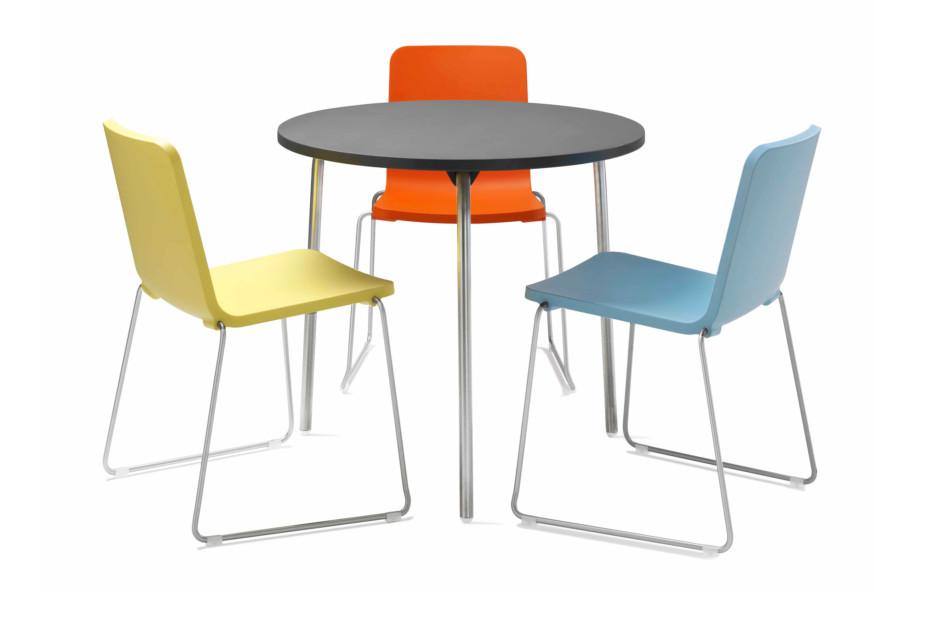 Pompidoo table round
