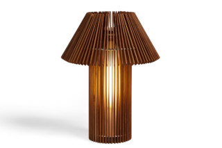 Wood table lamp  by  SKITSCH