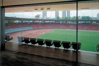 Stadion Letzigrund  von  Sky-Frame