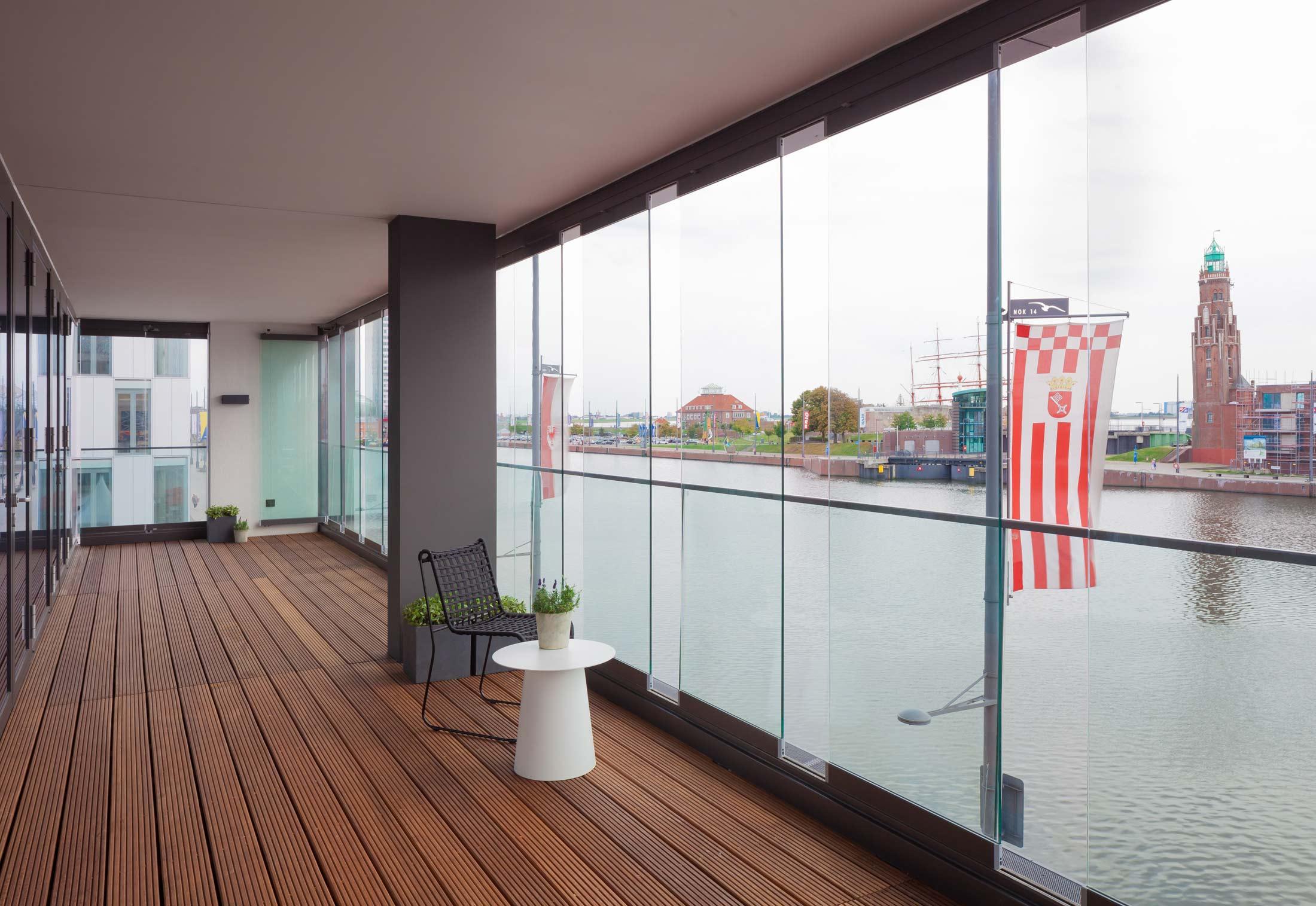 Closed Balcony Design
