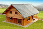 Roof-integrated module SCG-HV-RI  by  Soltecture