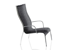 PASO DOBLE LOW CHAIR high back  by  Magis