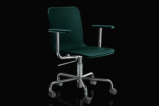 SOHO on wheels, with armrests  by  Magis