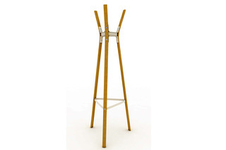 STEELWOOD COAT STAND  by  Magis