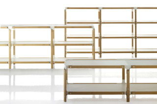 STEELWOOD SHELF  by  Magis