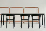 STEELWOOD TABLE  by  Magis