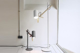 Scantling standing lamp  by  marset