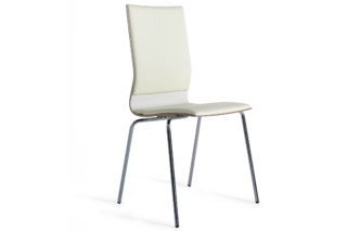 Adam chair upholstered  by  Materia