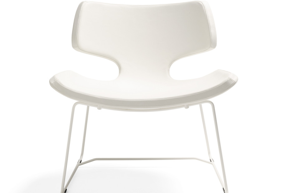 Bone Stuhl mit Kufen