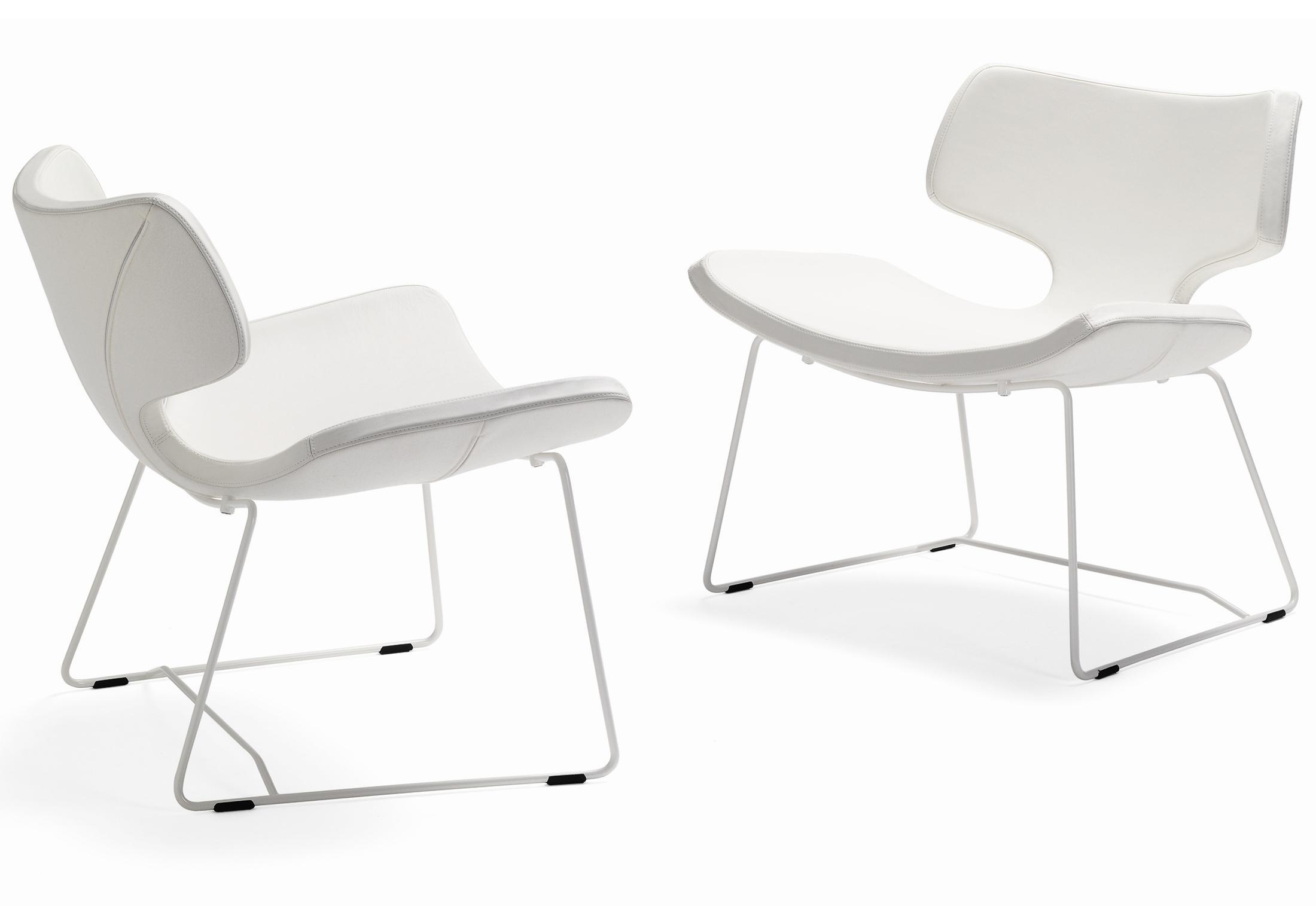 Bone Stuhl Mit Kufen Von Materia Stylepark