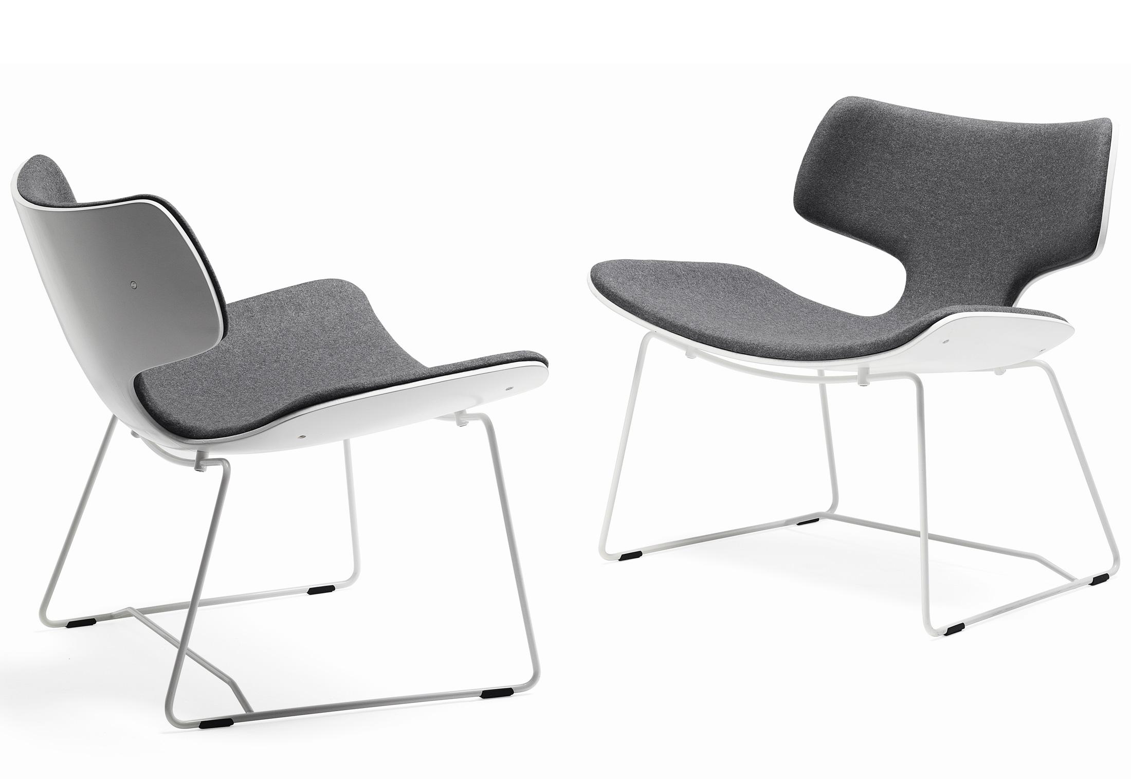 Bone stuhl mit kufen von materia stylepark for Stuhl mit kufen