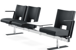 Element Beam with armrest  by  Materia