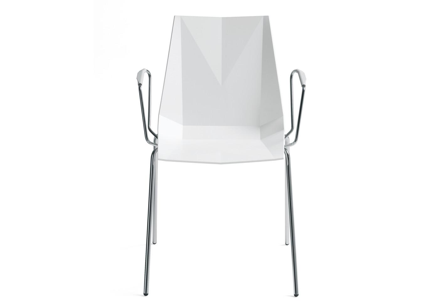Mayflower plastikstuhl mit armlehne von materia stylepark for Design plastikstuhl
