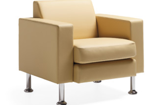 Multi easy chair with legs  by  Materia