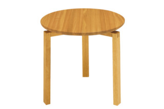 Robust side table round  by  Materia