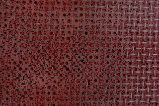Pearlnera grid red  by  material raum form