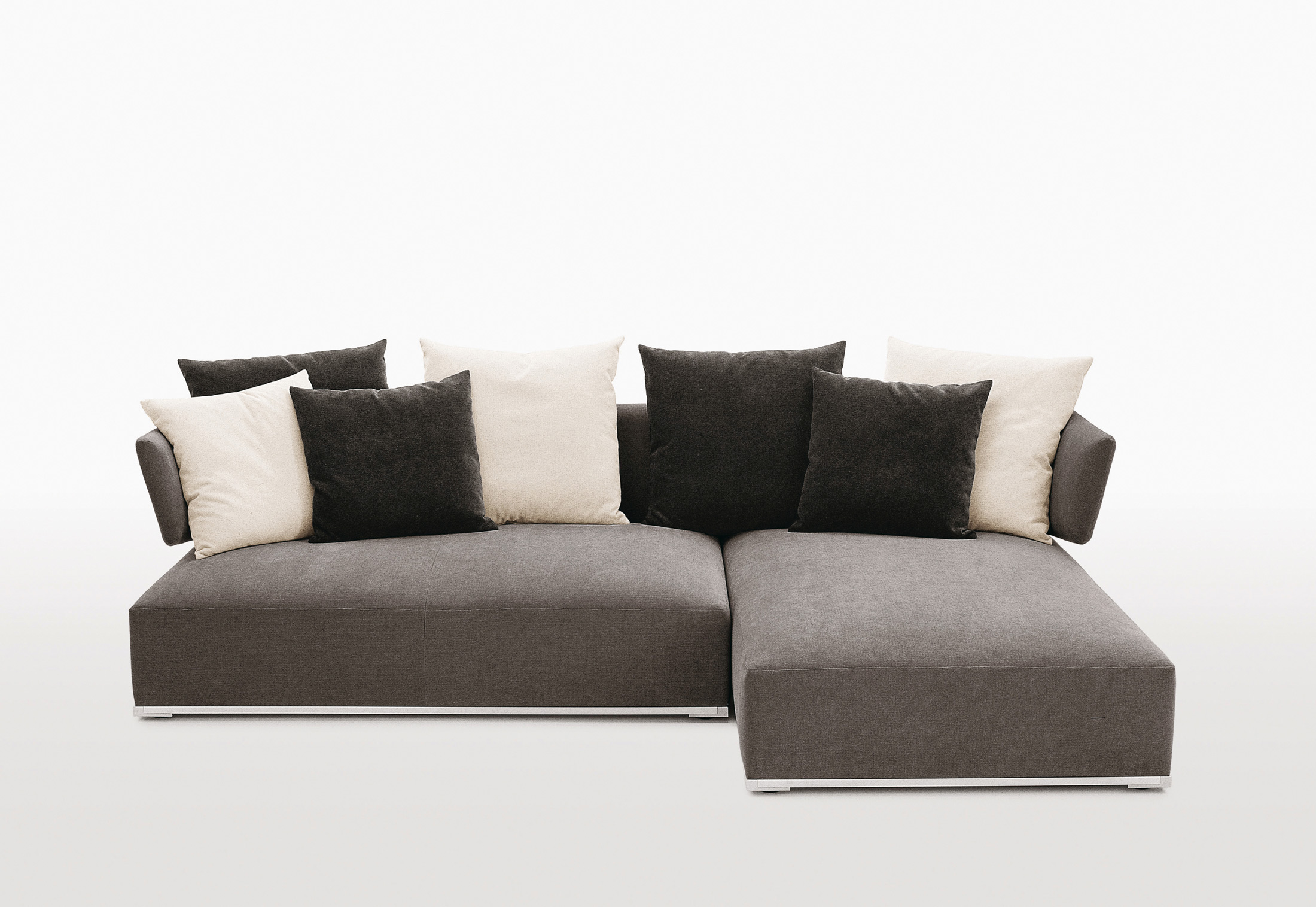 Amoenus sofa combination by maxalto stylepark for Couch loveseat combo