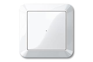 1-M Radio push button  by  Merten