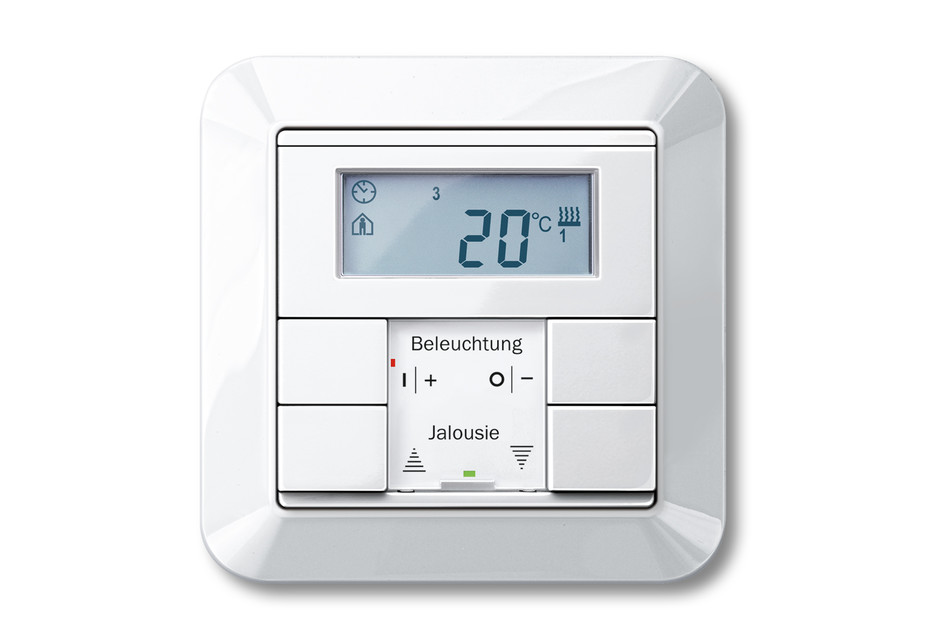 1-M Temperature control with multifunction push-buttons