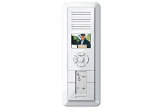 1-M TWINBUS VIDEO FLUSH-MOUNTED INTERCOM  by  Merten