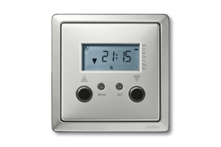 ARTEC STAINLESS STEEL Sahding with blind time switches  by  Merten