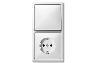 ARTEC Switch and socket combi  by  Merten