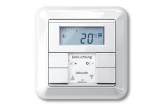 ATELIER-M Temperatursteuerung mit Multifunktionstastern  von  Merten