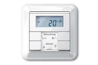 ATELIER-M Temperature control with multi-function push-buttons  by  Merten